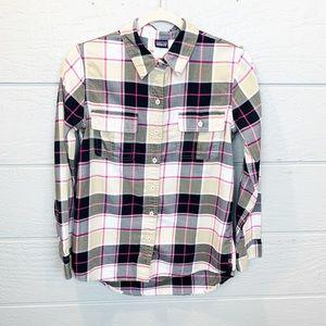 Patagonia Plaid Featherstone Long Sleeve Shirt